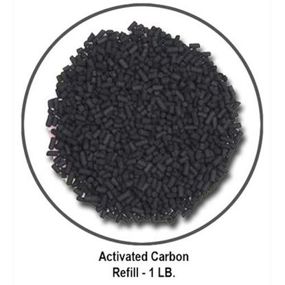 Poly-Air Odor Control Carbon Filter – 1 LB. Carbon REFILL  (PCF-PLVF-RC1)